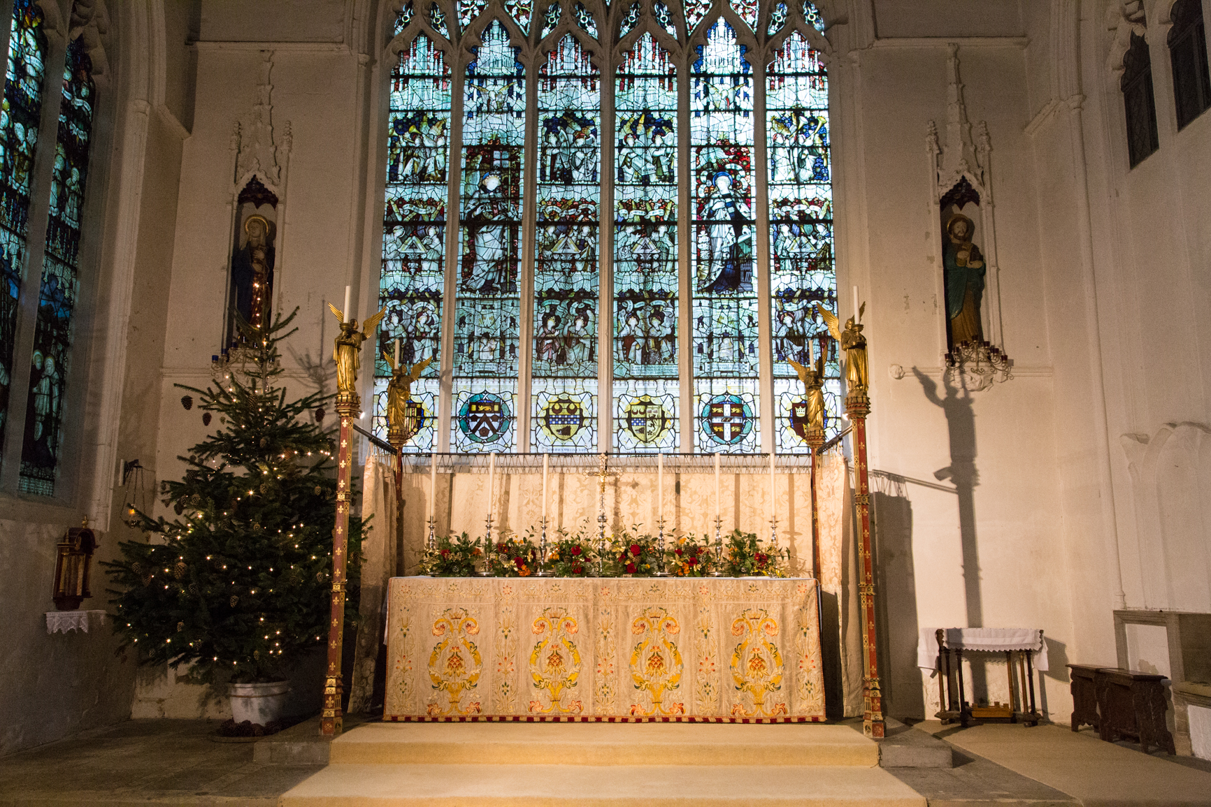 High altar and east window