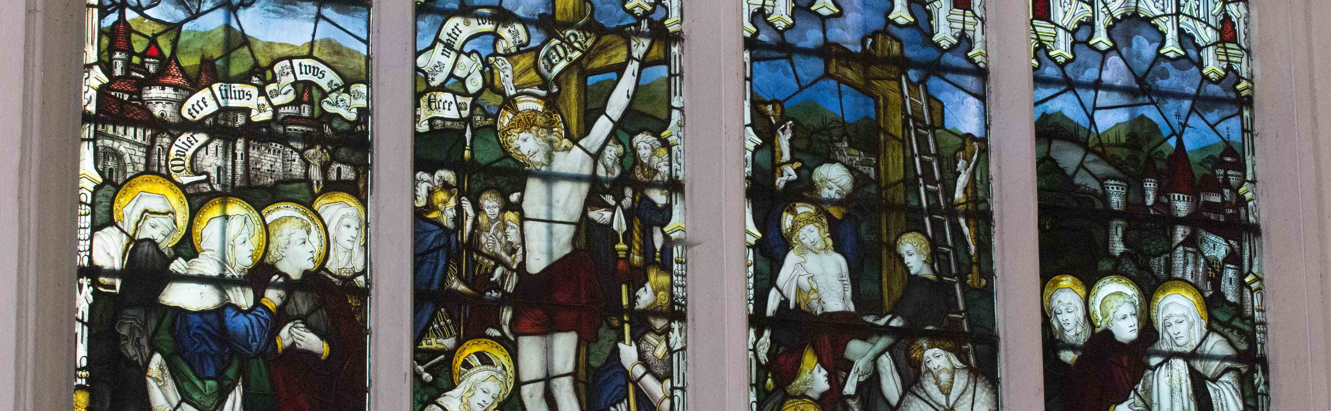 Kempe's Crucifixion Window